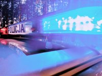 Sygnalizacja policyjnego radiowozu
